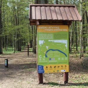 Mėlyna trasa: Vidzgirio botaninis draustinis (grupė 2-8 žmonės)